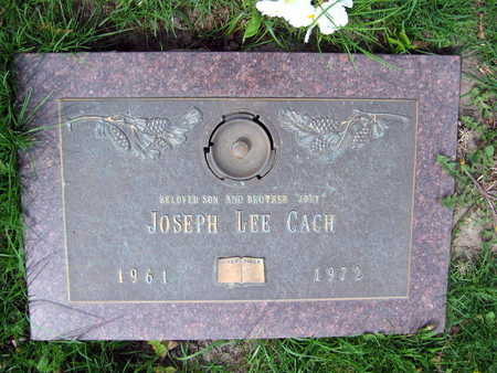 CACH, JOSEPH LEE - Linn County, Iowa | JOSEPH LEE CACH