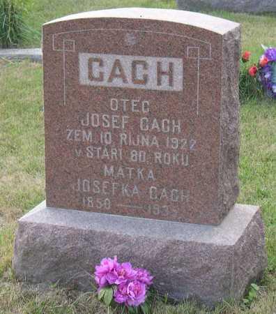 CACH, JOSEFKA - Linn County, Iowa | JOSEFKA CACH