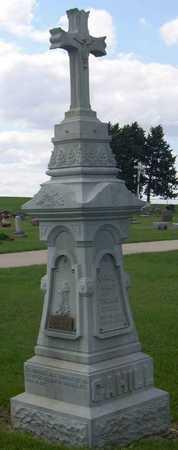 CAHILL, FAMILY STONE - Linn County, Iowa   FAMILY STONE CAHILL