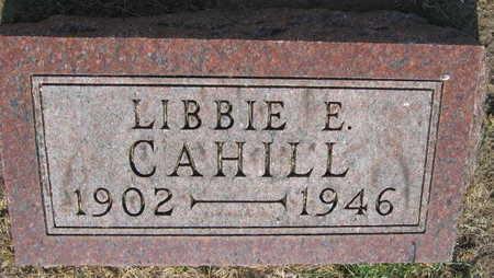 CAHILL, LIBBIE E. - Linn County, Iowa | LIBBIE E. CAHILL