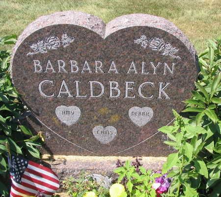 CALDBECK, BARBARA ALYN - Linn County, Iowa | BARBARA ALYN CALDBECK