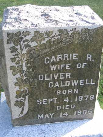 CALDWELL, CARRIE R. - Linn County, Iowa | CARRIE R. CALDWELL