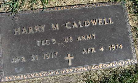 CALDWELL, HARRY M. - Linn County, Iowa   HARRY M. CALDWELL