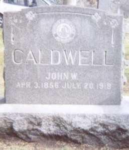 CALDWELL, JOHN W. - Linn County, Iowa | JOHN W. CALDWELL