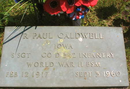 CALDWELL, R. PAUL - Linn County, Iowa   R. PAUL CALDWELL