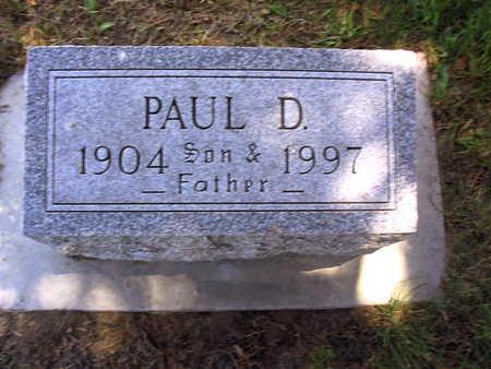 CALHOUN, PAUL D. - Linn County, Iowa | PAUL D. CALHOUN