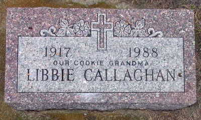 CALLAGHAN, LIBBIE - Linn County, Iowa | LIBBIE CALLAGHAN