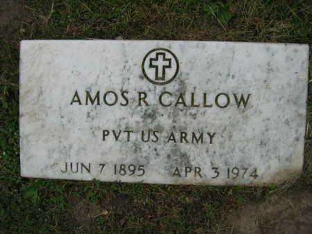 CALLOW, AMOS R. - Linn County, Iowa | AMOS R. CALLOW