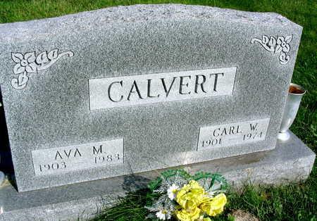 CALVERT, AVA M. - Linn County, Iowa | AVA M. CALVERT