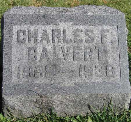 CALVERT, CHARLES F. - Linn County, Iowa   CHARLES F. CALVERT