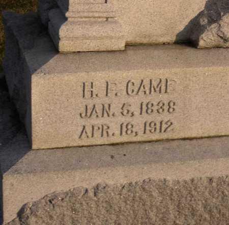 CAME, H. F. - Linn County, Iowa   H. F. CAME