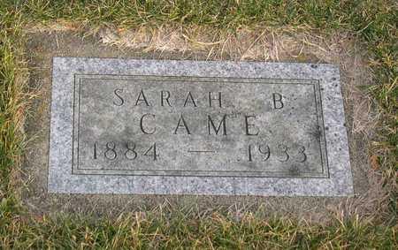 CAME, SARAH B. - Linn County, Iowa | SARAH B. CAME