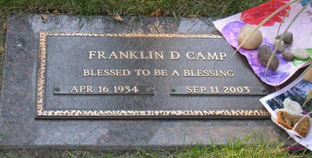 CAMP, FRANKLIN DELANO - Linn County, Iowa | FRANKLIN DELANO CAMP