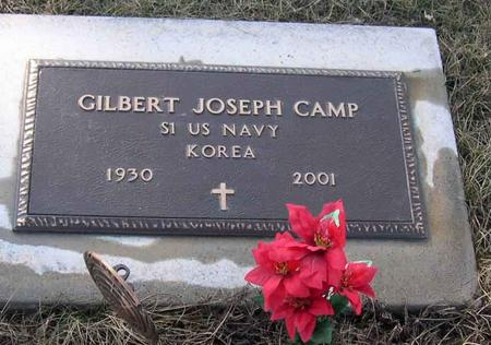 CAMP, GILBERT JOSEPH - Linn County, Iowa | GILBERT JOSEPH CAMP