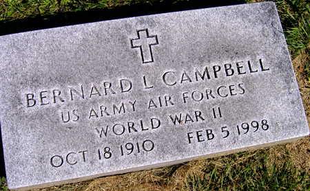 CAMPBELL, BERNARD L. - Linn County, Iowa | BERNARD L. CAMPBELL