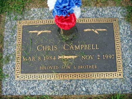 CAMPBELL, CHRIS - Linn County, Iowa   CHRIS CAMPBELL