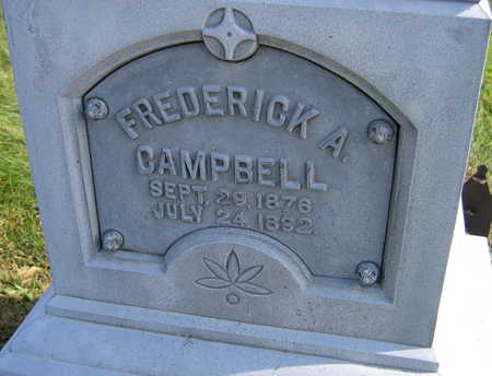 CAMPBELL, FREDERICK A. - Linn County, Iowa | FREDERICK A. CAMPBELL