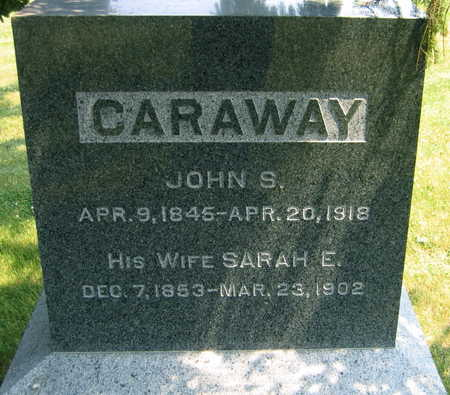 CARAWAY, JOHN S. - Linn County, Iowa | JOHN S. CARAWAY