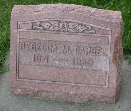 CARBEE, REBECCA M. - Linn County, Iowa | REBECCA M. CARBEE