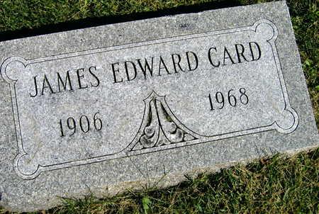 CARD, JAMES EDWARD - Linn County, Iowa   JAMES EDWARD CARD