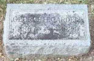CARDELL, GEORGE H. - Linn County, Iowa   GEORGE H. CARDELL