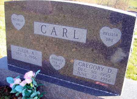 CARL, GREGORY D. - Linn County, Iowa   GREGORY D. CARL