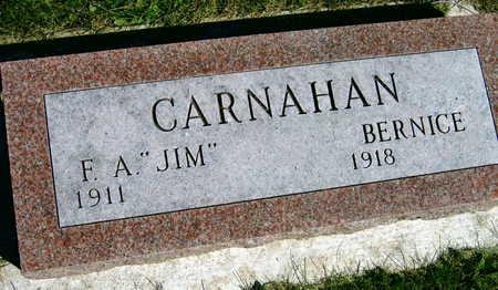 CARNAHAN, BERNICE - Linn County, Iowa | BERNICE CARNAHAN