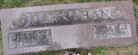 CARNAHAN, JESSE W. - Linn County, Iowa | JESSE W. CARNAHAN
