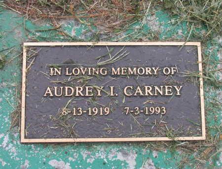CARNEY, AUDREY I. - Linn County, Iowa   AUDREY I. CARNEY
