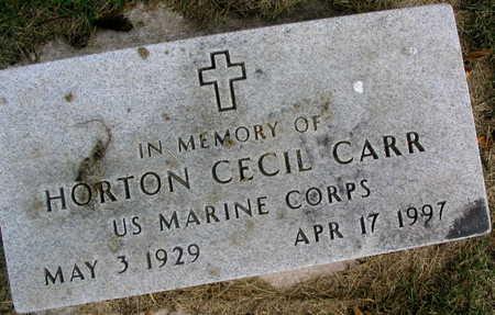CARR, HORTON CECIL - Linn County, Iowa | HORTON CECIL CARR