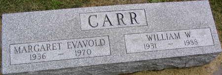 CARR, WILLIAM W. - Linn County, Iowa | WILLIAM W. CARR