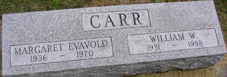 EVAVOLD CARR, MARGARET - Linn County, Iowa | MARGARET EVAVOLD CARR