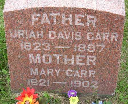 CARR, URIAH DAVIS - Linn County, Iowa | URIAH DAVIS CARR