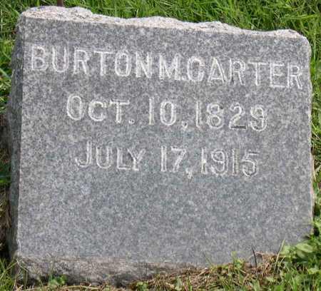 CARTER, BURTON M. - Linn County, Iowa | BURTON M. CARTER