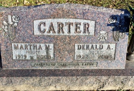 CARTER, DERALD A. - Linn County, Iowa | DERALD A. CARTER