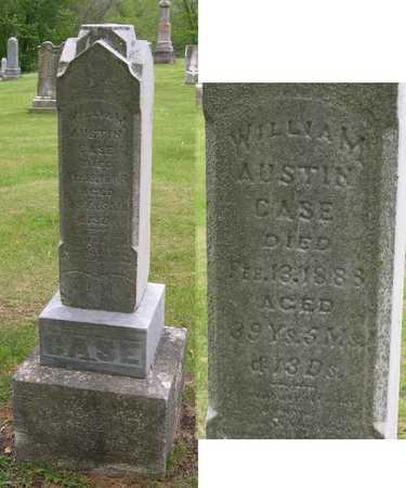 CASE, WILLIAM AUSTIN - Linn County, Iowa | WILLIAM AUSTIN CASE