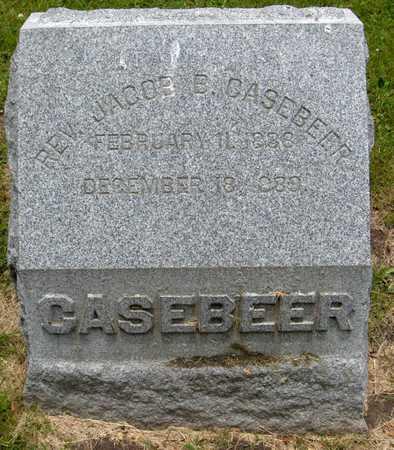 CASEBEER, REV. JACOB B. - Linn County, Iowa | REV. JACOB B. CASEBEER