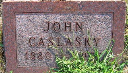 CASLASKY, JOHN - Linn County, Iowa | JOHN CASLASKY