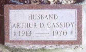 CASSIDY, ARTHUR D. - Linn County, Iowa | ARTHUR D. CASSIDY