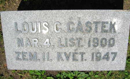 CASTEK, LOUIS C. - Linn County, Iowa | LOUIS C. CASTEK