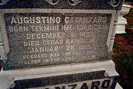CATANZARO, ANTONIO - Linn County, Iowa   ANTONIO CATANZARO