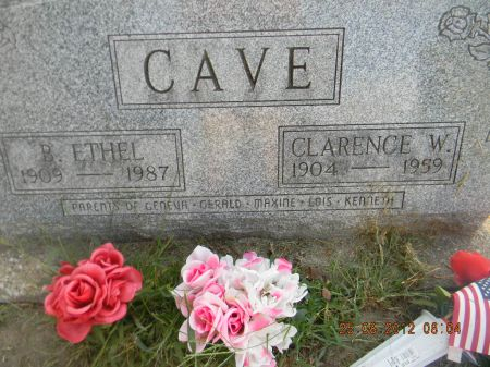 CAVE, CLARENCE W. - Linn County, Iowa | CLARENCE W. CAVE