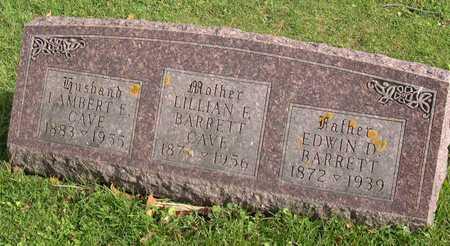 CAVE, LAMBERT E. - Linn County, Iowa | LAMBERT E. CAVE
