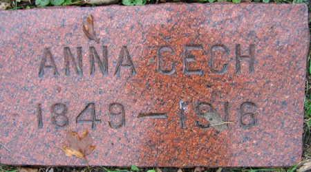 CECH, ANNA - Linn County, Iowa | ANNA CECH