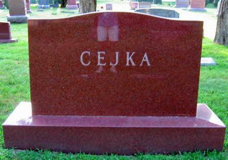 CEJKA, FAMILY STONE - Linn County, Iowa | FAMILY STONE CEJKA