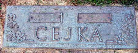 CEJKA, GEORGE R. - Linn County, Iowa   GEORGE R. CEJKA