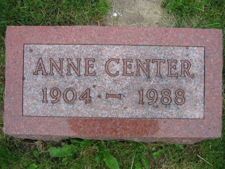 CENTER, ANNA - Linn County, Iowa | ANNA CENTER
