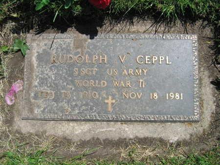 CEPPL, RUDOLPH V. - Linn County, Iowa | RUDOLPH V. CEPPL