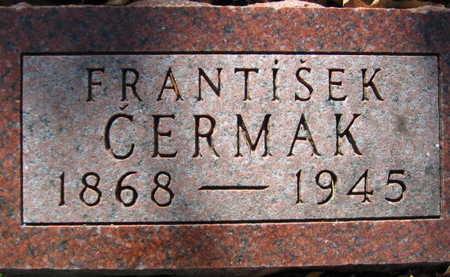CERMAK, FRANTISEK - Linn County, Iowa | FRANTISEK CERMAK