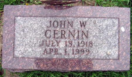 CERNIN, JOHN W. - Linn County, Iowa | JOHN W. CERNIN